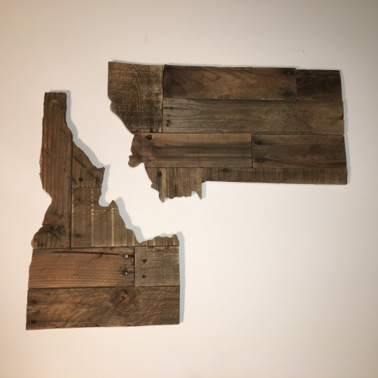 patchwork wood state signs